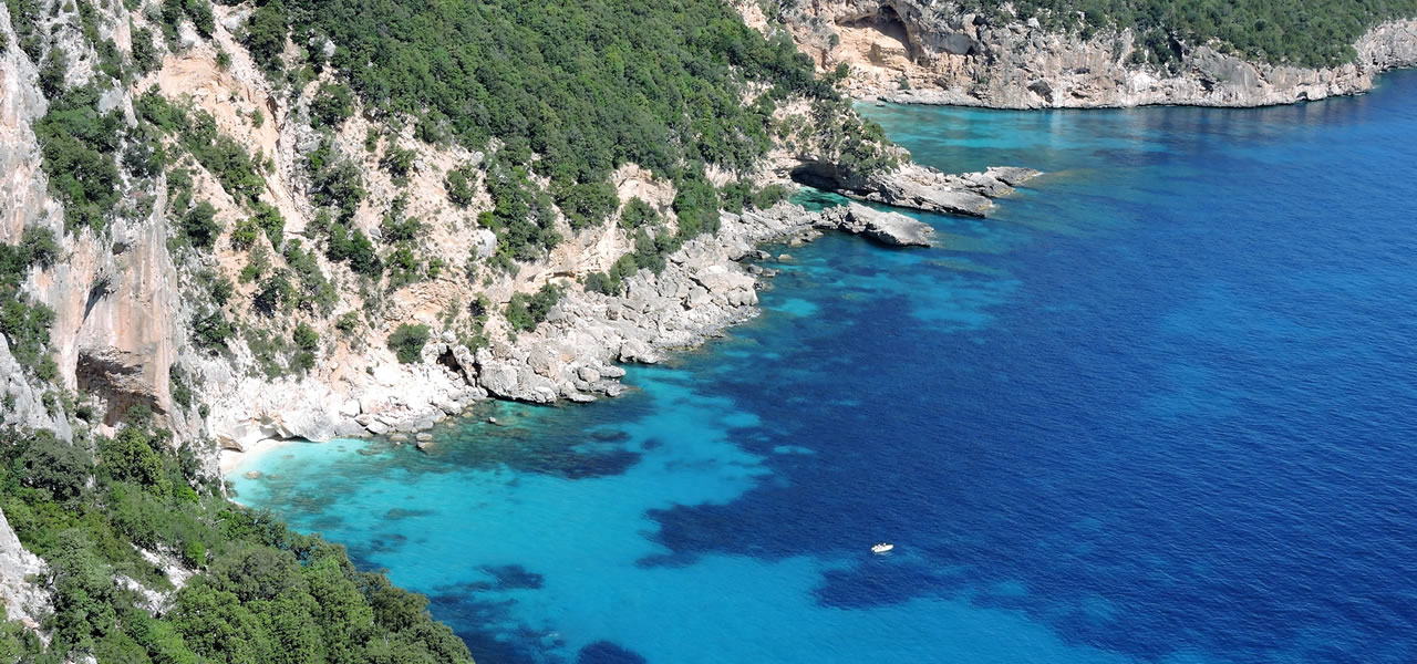 Your excursions to Cala Gonone from the Hotel Hotel San Francisco